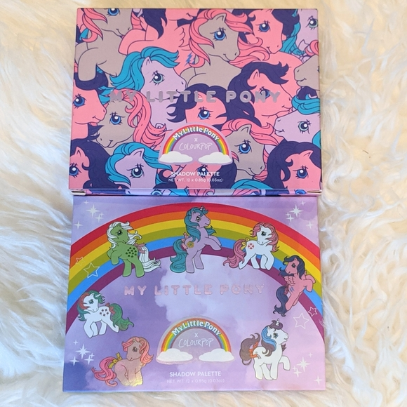 Colourpop Other - BNIB - COLOURPOP MY LITTLE PONY PALETTE